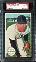 1964 Topps Giants #35 DAVE WICKERSHAM Detroit Tigers PSA 6 EX-MT