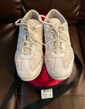Nfinity Infinity Evolution White Cheer Shoes, Carrying Case womens sz 9