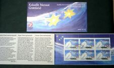 Greenland Christmas Stamp Booklet #06 2001 Grouse Arctic Bird - CTO - EXCELLENT!