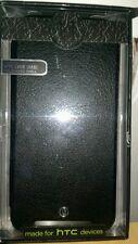 Uunique London HTC One M8 Folio Hard Shell Black/ Flip case
