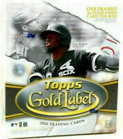 2020 Topps Gold Label Baseball Factory Sealed Hobby Box
