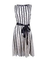 SL Fashions Women's Plus Size Lace Fit & Flare Dress