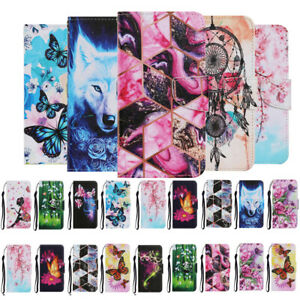For Xiaomi Redmi 9 9A 9C 8A 7A Note 10 Phone Leather Flip Card Wallet Case Cover