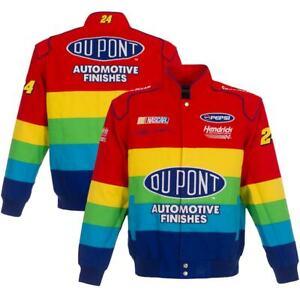 2021 Jeff Gordon JH Design Royal Dupot Twill Cotton Full-Snap Jacket