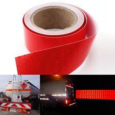 Cinta adhesiva reflectante Cinta Señalización Ancho 5cm Longitud 10m Color Rojo