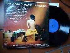 """LP 12""""  UN ANNO D'AMORE SERIE NIAGARA N.38 ORCH. TEENAGERS MAESTRO BATTAINI"""