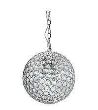 Home Decorators Collection 1-Light Crystal Chrome Mini-Pendant