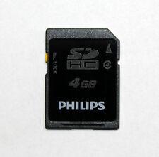 Speicherkarte 4 GB SDHC Memory Card Philips