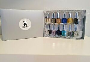 Designer Nail Polish Gift Set -A England- The Mythical's Collection - 12 Bottles