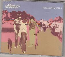 THE CHEMICAL BROTHERS - hey boy hey girl CD single