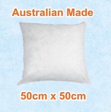Aus Made New Cushion Inserts Premium Polyester Fibre Filling-50cm x 50cm