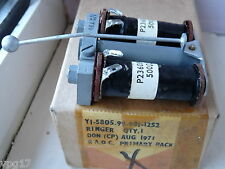 TELEPHONE RINGER ASSEMBLY 500Ω 500  OHMS TWIN COIL NEW