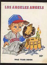 1962 Los Angeles Angels  Baseball Yearbook