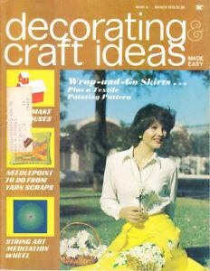 Loisirs Créatifs Livres : #1460 Décoration & Idées March 1975