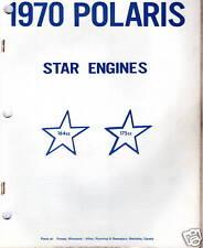 1970 POLARIS  SNOWMOBILE STAR ENGINES 164 & 175 MANUAL
