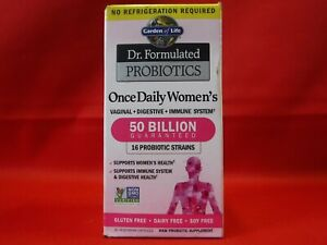 ONCE DAILY WOMEN'S PROBIOTICS - GARDEN OF LIFE - 30 CAPSULES - 04/2022