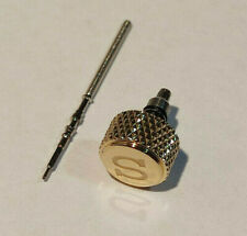 stem for NH35 NH36 4R36 Coin edge Crown with engraved S for Skx007 skx009