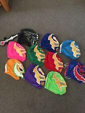 WWE Wrestling Masks BULK LOT  x 10 Rey Mysterio, Kalisto and Sin Cara