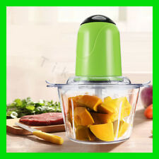 Free Shipping 2L Electric Kitchen Chopper Meat Grinder Shredder Food Chopper