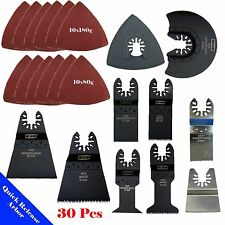 30 Saw Blade Oscillating MultiTool Black & Decker Makita Craftsman Ryobi Chicago