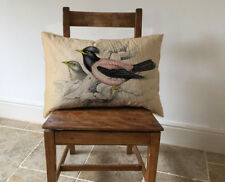 Vintage Birds - Long Cushion Covers Pillow Cases Home Inner