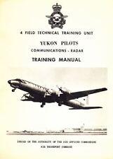 Canadair CL-44 Yukon Manual Technical historic archive rare 1960's 70's pilot