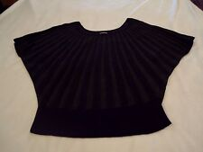 EUC EXPRESS WOMENS BLACK SWEATER SIZE MEDIUM