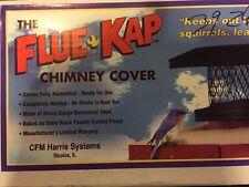 """Flue Kap Chimney Cover Model #14 8""""x13"""" (34-11-4904) Adjustable"""