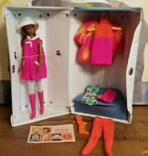 New ListingLovely *Black Francie Barbie * W/ Francie Tagged Vintage Outfits & Case ♡♡♡♡♡