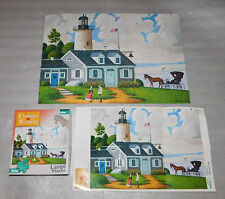 Charles Wysocki Lighthouse Keepers Daughter Jigsaw Puzzle 300 Pieces 21x15
