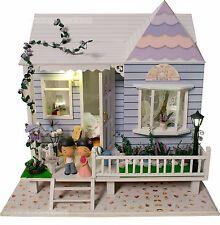 DIY Wooden Dollshouse Miniature Kit w/ Lights - Falling in Love