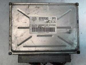 00-04 ISUZU RODEO Computer Brain Engine Control ECU ECM EBX Module 8972878303