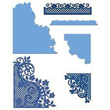 Heartfelt creations: Fleur fronteras y bolsillos Die (HCD1-778)