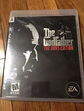 The Godfather -- The Don's Edition (Sony PlayStation 3, 2007)used