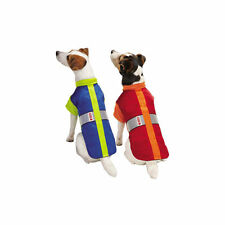 "KONG LED Thermal Safety Dog/Puppy Jacket/Vest Blue/Red M 16"" NEW"