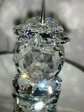Rare Swarovski European Candle Holder 7600113000 - 1981