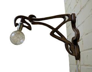 A&O wall lamp Dryad - gargoyle in Art Nouveau style