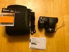 Sony DSC-H300 Cyber-Shot 20.1MP Digital Camera With Lowpro Case