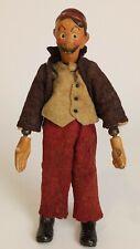 Antique Switzerland SABA BUCHERER Jointed Metal, Character Doll Jeff, 1920's