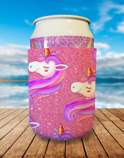 Unicorn Collapsible Stubby Holder Can Cooler