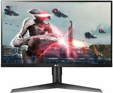 "LG 27GL63T Ultragear 27"" Class FHD IPS G-Sync Compatible Gaming Monitor NEW!"