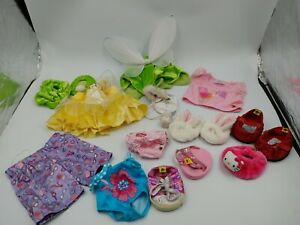 Build A Bear Workshop Clothing Shoes Fairy Hello Kitty Costumes Lot Bunny Wings