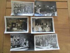 LOT 6X PHOTO INTERIEUR BISTRO 1950 BABY FOOT CHAMPIGNEULLES BAR CINZANO