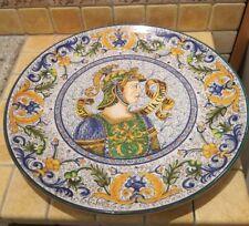 Piatto Decorativo da muro fatto a mano da 60 prodotto Surrena Terracotta Falisca