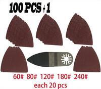 MultiTool Polishing 100 Pieces Sanding Paper + Finger Sanding Pad Fein Dremel