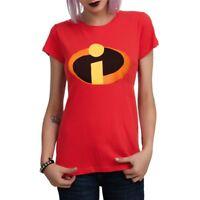 The Incredibles Movie Symbol Logo Junior Girls T-Shirt