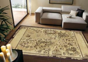 NEW Live point map Harry Potter Magic world map Oversized Non-slip carpet carpet