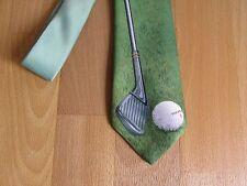 Ir por el interés de Golf de TI con corbata de imagen club por el sentido nudo verde 1987