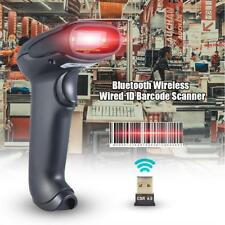 2 in 1 1D Bluetooth Wireless/Wired Barcode Scanner Support Wins Android IOS I3G4