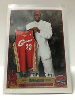 LeBron James 2003-04 Topps Rookie #221 Re - Print  #1 Draft Pick